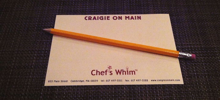 Craigie on Main – Chef's Whim 7.7.13